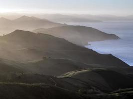 paisagem de colinas
