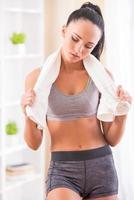 fitness em casa foto
