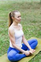 ioga e ginástica foto