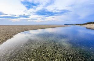 paisagem sonora dramática de long island foto