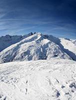 montanha do inverno