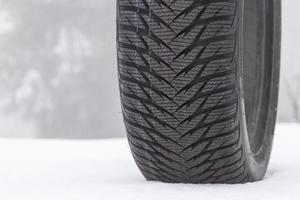 pneu de inverno foto