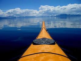 caiaque em Lake Tahoe foto
