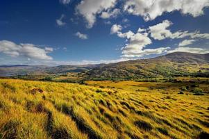 a paisagem irlandesa, connor pass, irlanda foto