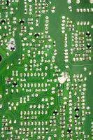 soldas de placas de circuito foto