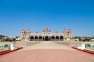 palácio de mysore foto