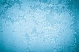 padrão de geada abstrata de inverno foto