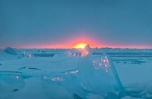inverno do lago huron