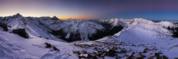 montanha do inverno na polônia, kasprowy