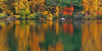 lago de outono
