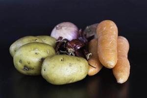 frutas e vegetais foto