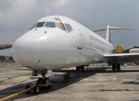 avião velho foto