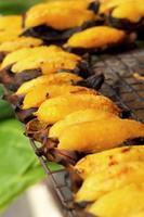 assar banana - doce Tailândia. foto