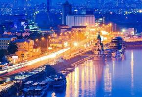kiev da noite foto