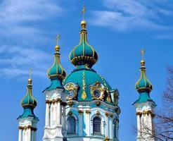 igreja de st andrew, kiev foto