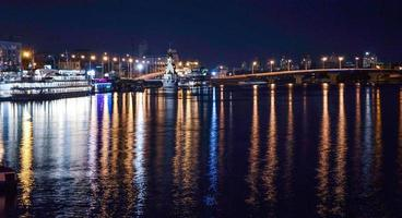 luz noturna do kiev foto