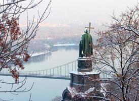 monumento de vladimir em kiev foto