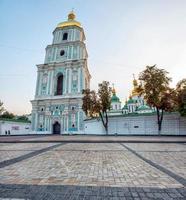 catedral de santa sofia, no centro de kiev, ucrânia.