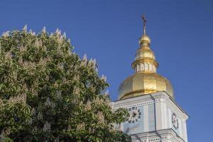 manhã de verão em kiev foto