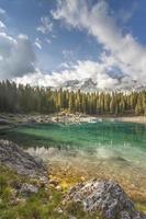 dolomites do lago Carezza