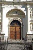 catedral em antigua, guatemala foto