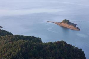 ilha, lago chungju foto