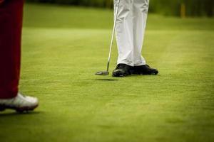 no clube de golfe foto