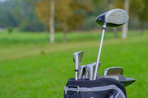 equipamento de golfe foto