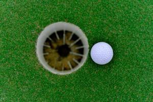 golfe no buraco