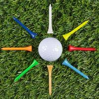 estrela da bola de golfe foto