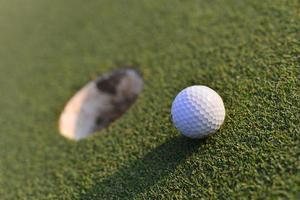 bola de golfe foto