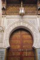 vista da antiga medina em fes foto