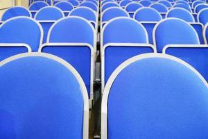 assentos do estádio azul foto
