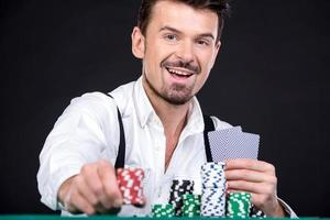 pôquer foto