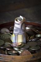 moeda europeia foto