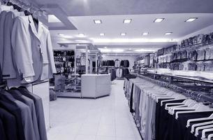 interior da loja moderna foto