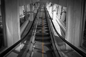 escada rolante foto