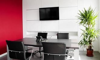 edifício de escritórios interior foto