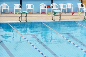 detalhe da piscina foto