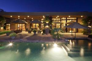 bela casa na califórnia foto