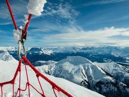 horizonte da montanha