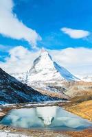 pico de matterhorn, zermatt, suíça foto
