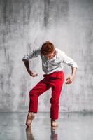 dançarina contemporânea