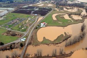 inundação do estado de washington