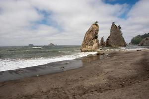 praia de rialto, olympic np, wa, estados unidos da américa foto