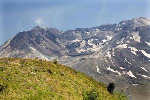 caldeira lava cúpula monte saint helens vulcão parque nacional washi