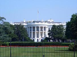 casa branca em washington dc foto