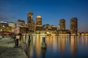 beira-mar de boston foto