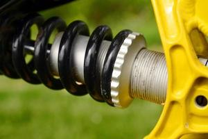suspensão de bicicleta foto