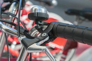 bicicleta estacionada